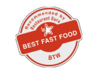 """""""Best Fast Food"""" Award"""