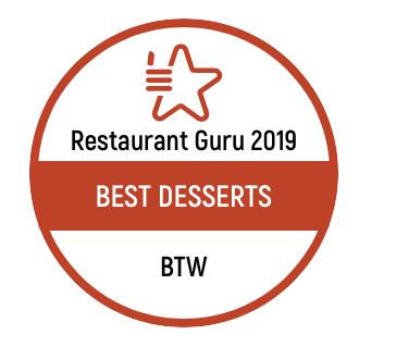 """""""Best Desserts"""" Award"""